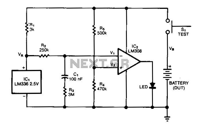 batterycapacitytester schematic