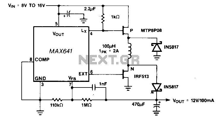 lm2596dcdcstepdowncircuit