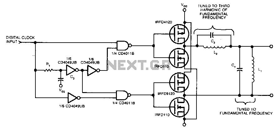 sine wave to ttl converter circuit diagram