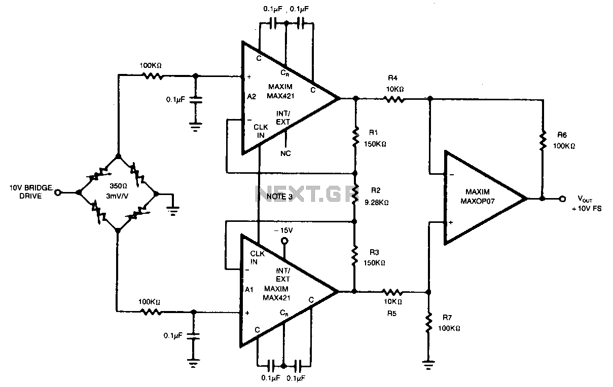 Buffer Circuit Page 2 Other Circuits Next Gr Auto Electrical Thermocouple Amplifier Using Ca3193
