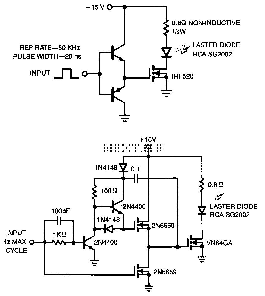 laser diode wiring