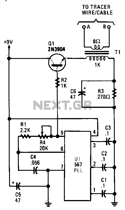 wire tracer receiver circuit diagram