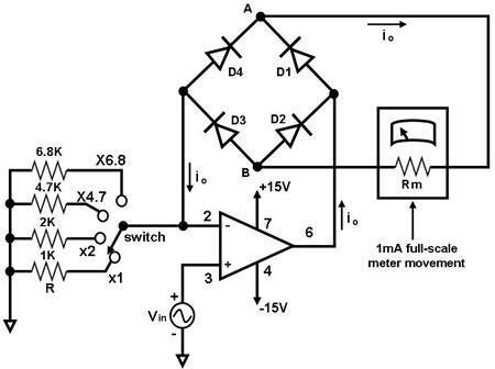Wiring Diagram Voltmeter Gauge circuit diagram template