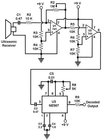 ultrasonic transducer circuit ultrasonic transducer circuit