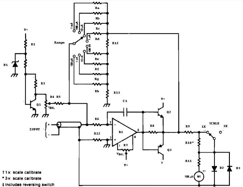 vu meter circuit page 2 meter counter circuits next gr auto