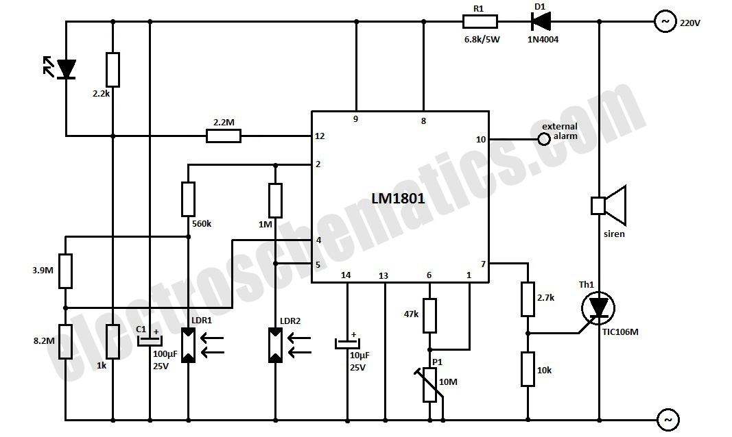 airflow detector circuit diagram