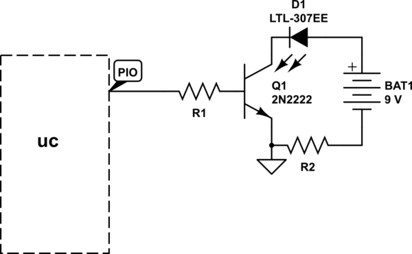 circuit shows about 555 ic for ir remote control extender circuit