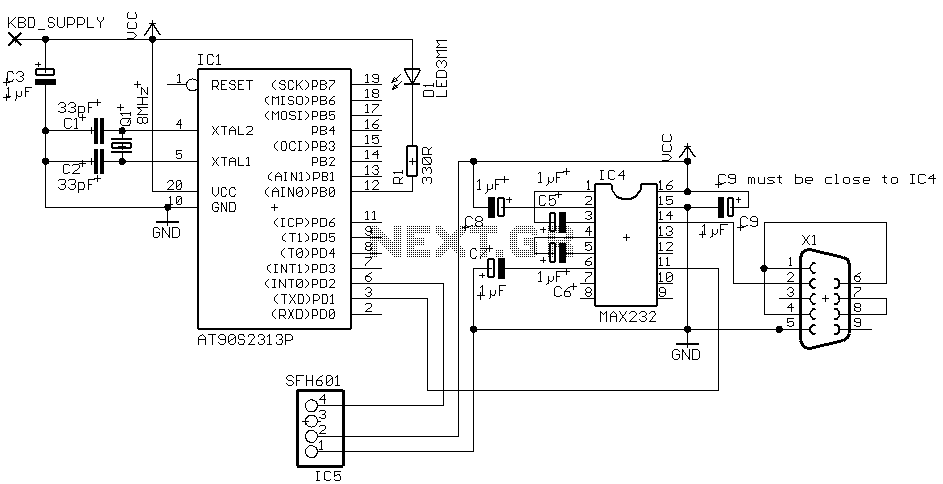 rc filters operation circuit diagram