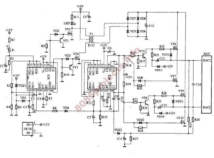 inverter circuit Page 7  Power Supply Circuits  Nextgr