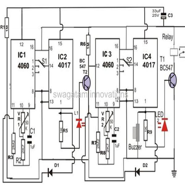 making a flexible programmable timer circuit electronic circuit