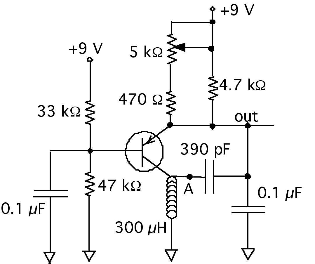 circuit diagram for wire loop game