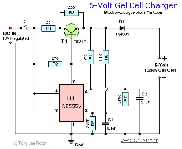 battery charger circuit Page 10  Power Supply Circuits  Nextgr