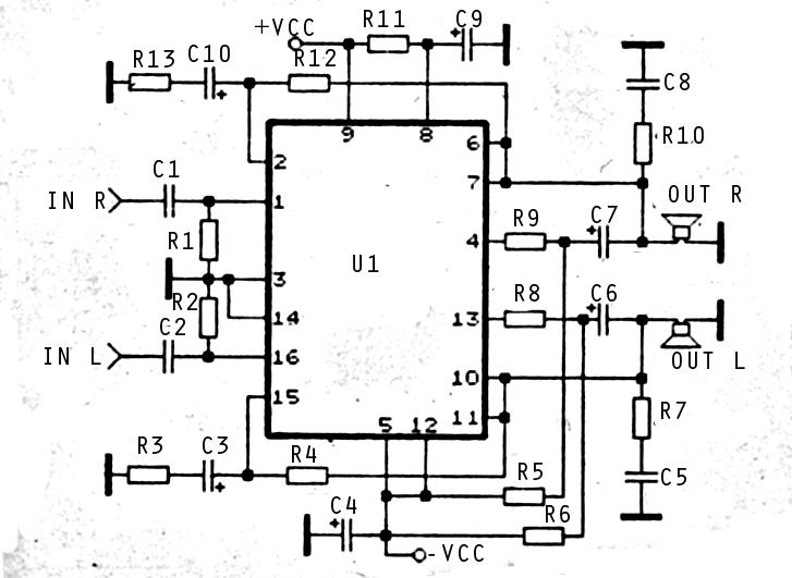 stk ic auto electrical wiring diagram