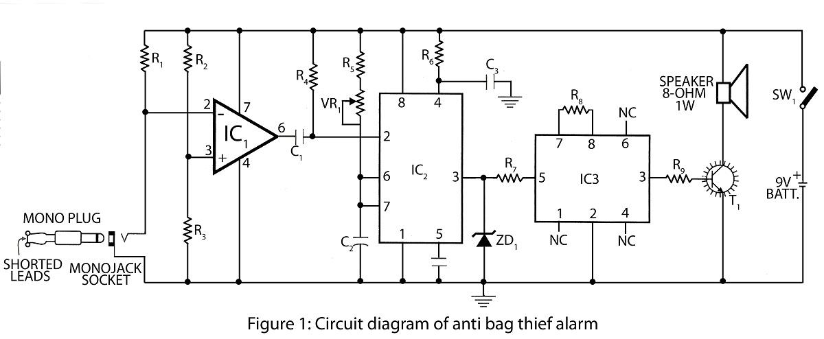 transistorized am radio circuit schematic