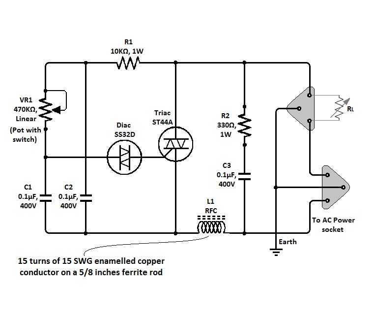 light dimmer circuit Page 3  Light Laser LED Circuits  Nextgr