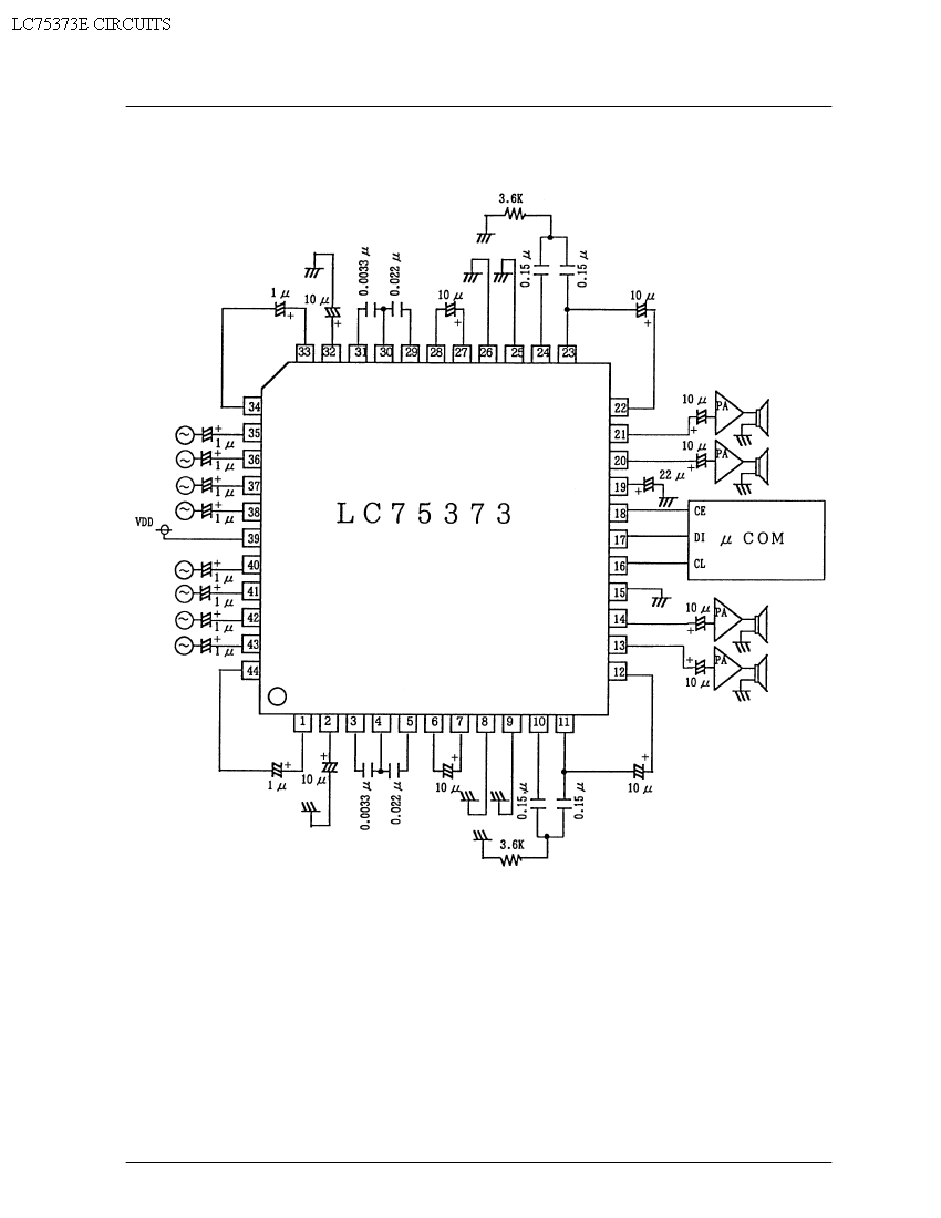 lm390 power amplifier schematic