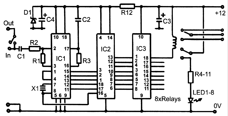 headphone monitoring switch circuit diagram
