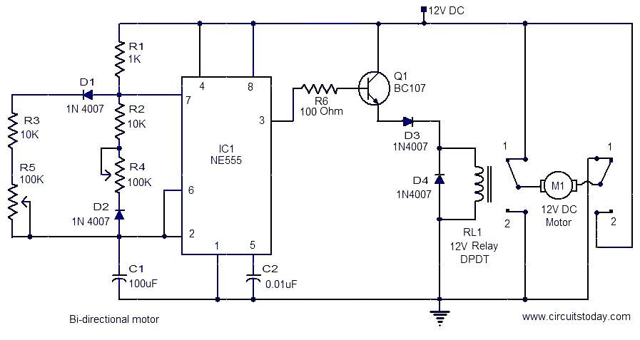 dc motor control circuits