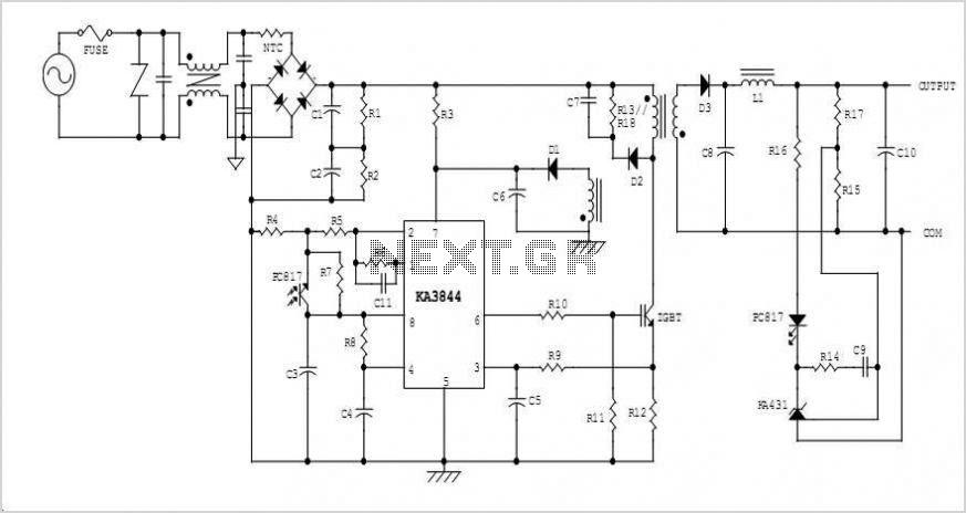 10v switching regulator using lm5007