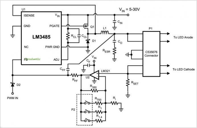 leds fade in out circuit problem and led sequencer problem