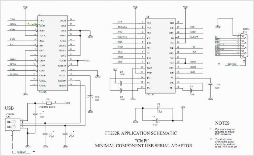 Rs232 To Usb Wiring Diagram - Somurich