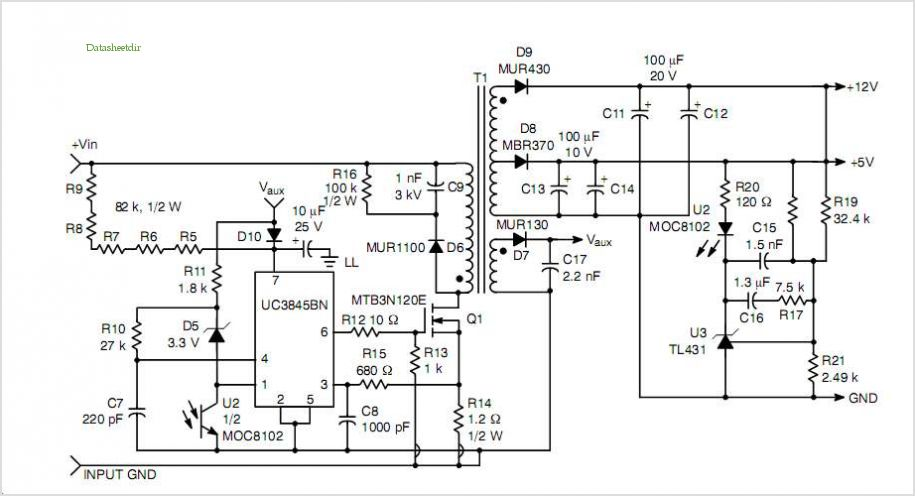switching power supply schematic 3a switching voltage regulator based
