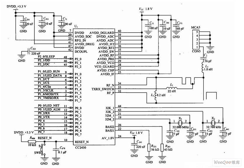 Circuit Diagram Of Zigbee circuit diagram template