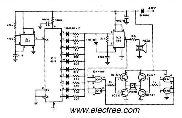 mosquito repellant circuit