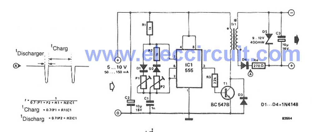 Ac To Dc Converter Wiring Diagram Electronic Schematics collections