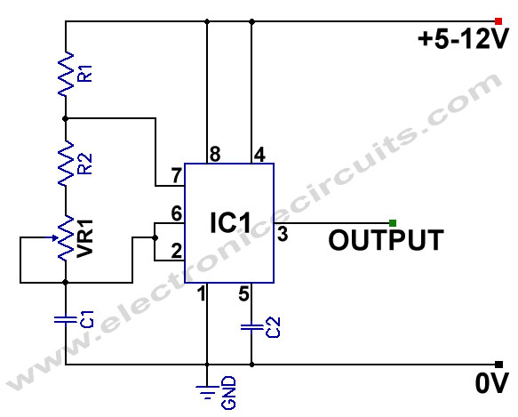 variable frequency oscillator circuit