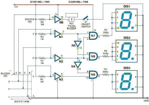 7 Segment Logic Diagram Electrical Circuit Electrical Wiring Diagram