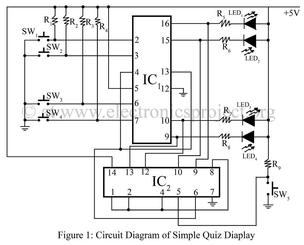 buzzer game circuit