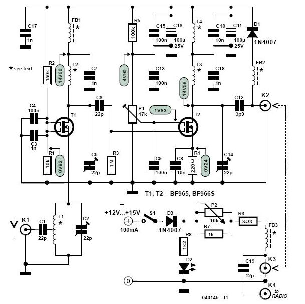 broadcast band rf amplifier