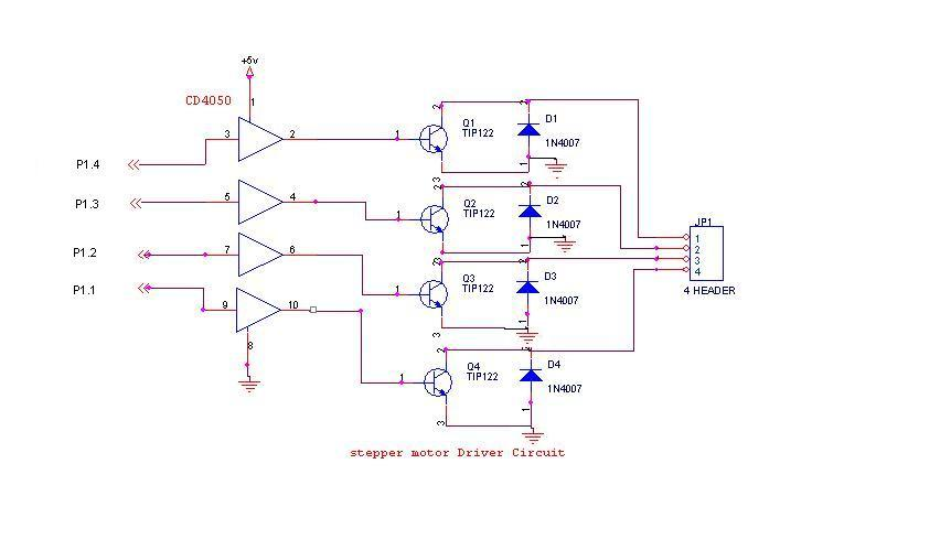stepper motor circuit Page 5  Automation Circuits  Nextgr
