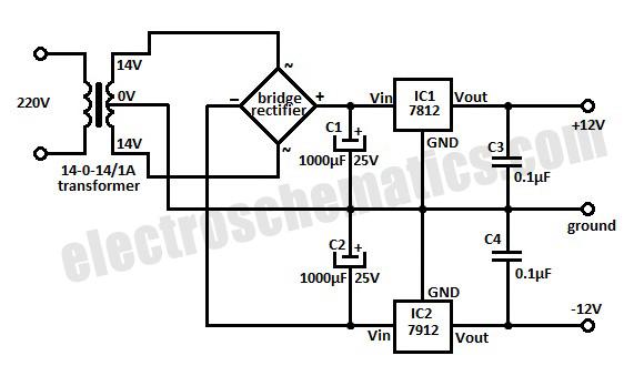 lcd display circuit