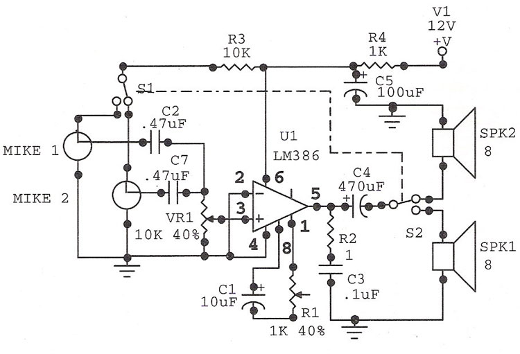 telephone line surge protection circuits