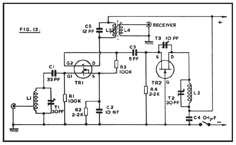 144mhz power amplifier circuit