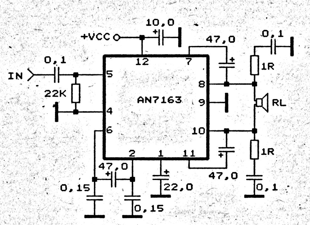 intex home theatre circuit diagram