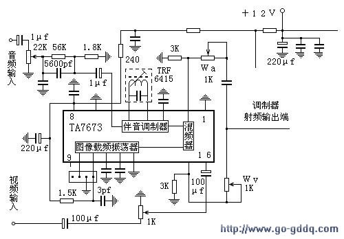 video circuits diy tv transmitter