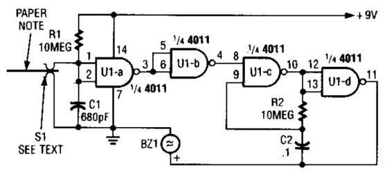 biquad filter circuit diagram using lm3403 quad op amp circuit