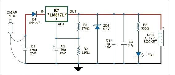 Eup8054 Liion Charger Schematic Circuit Wall Adapter electrical