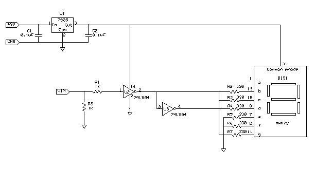audible logic probe circuit diagram