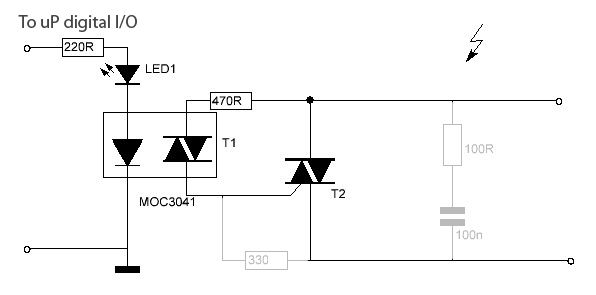 triac switch circuit