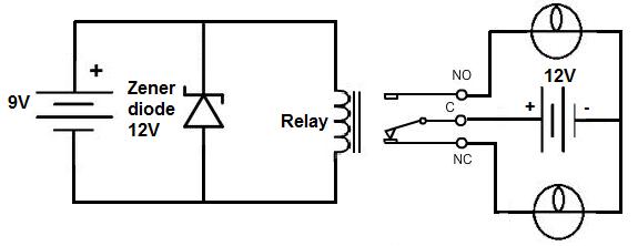 ac relay driver circuit