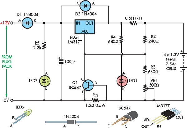 battery charger circuit Page 15  Power Supply Circuits  Nextgr