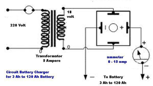 the smart battery charger circuit that using a single transistor