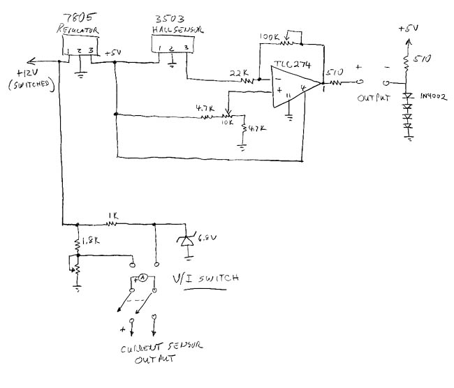 voltmeter circuit Page 6  Meter Counter Circuits  Nextgr