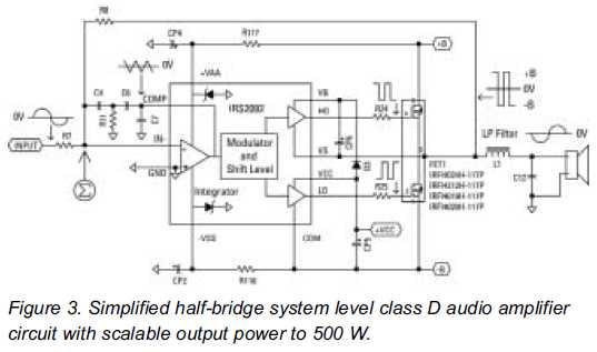 bp4078 class d audio power amplifier