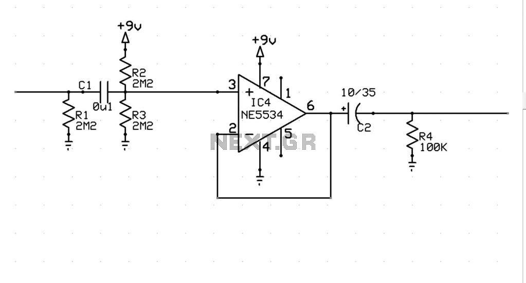 circuit diagram of lie detector