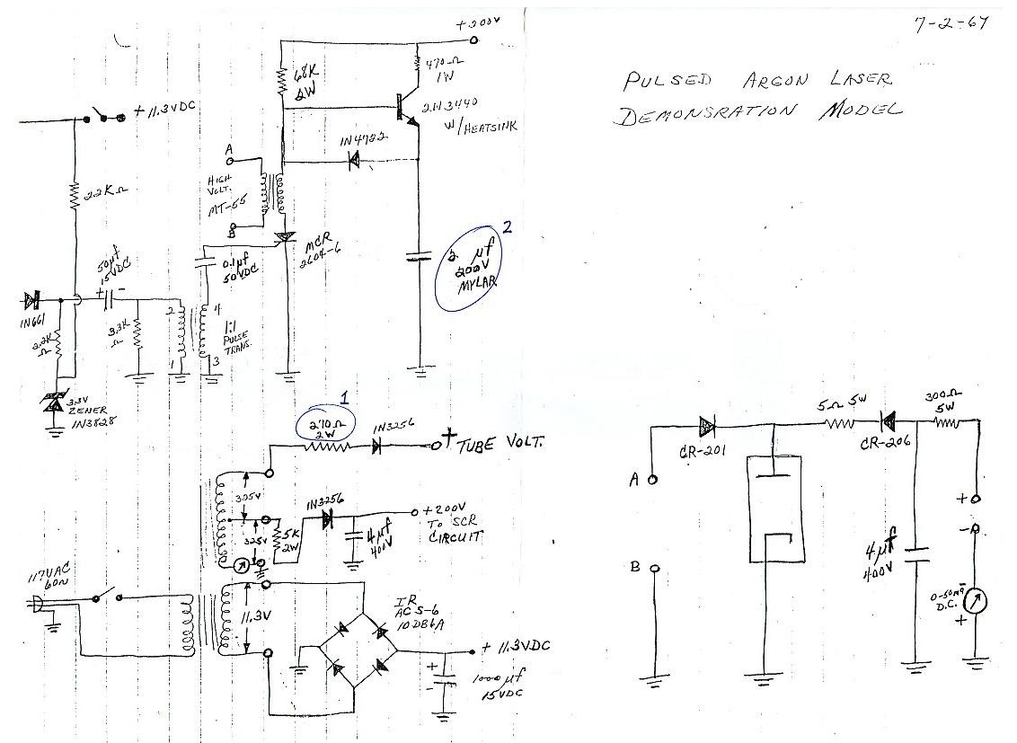 Lighting Circuit Page 7 Light Laser Led Circuits Next Gr Auto Infrared Nextgr